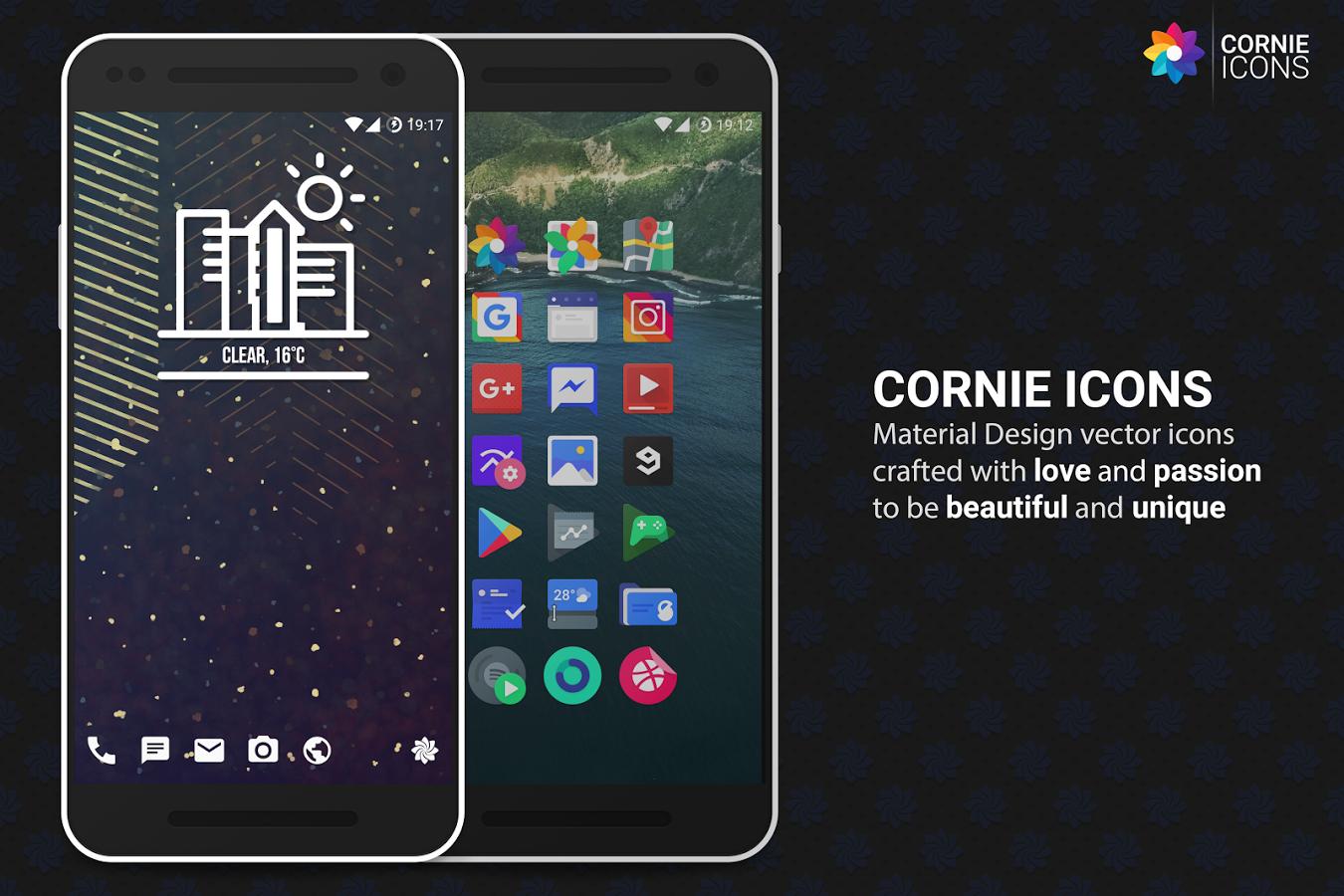 Cornie icons