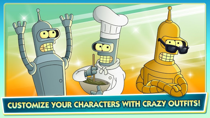 Futurama Worlds of Tomorrow Apk
