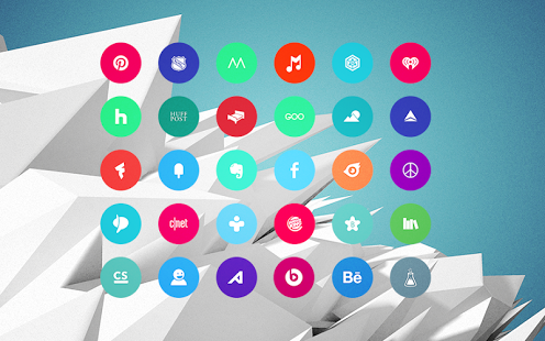 Material Things Colorful Theme Apk