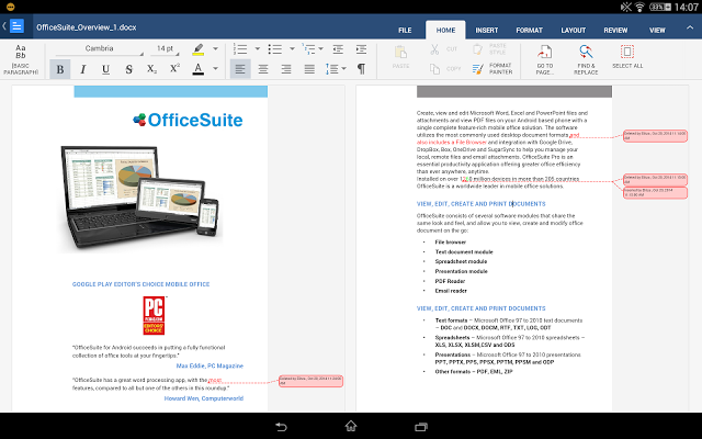 OfficeSuite + PDF Editor Premium Apk