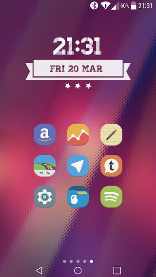 Stock UI Icon Pack Apk