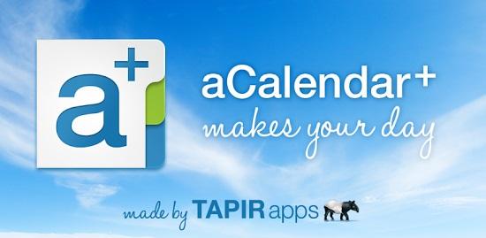 aCalendar+ Calendar & Tasks