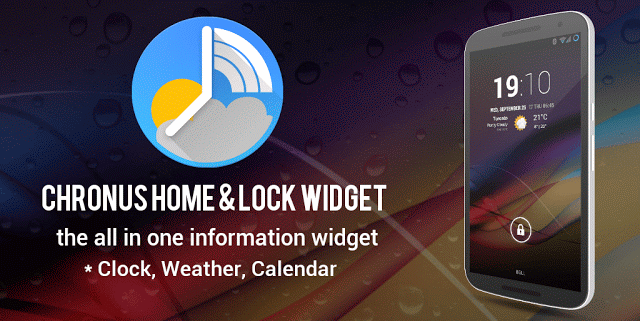 Chronus Pro Home & Lock Widgets