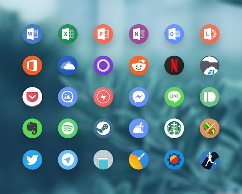 Grace Pixel UX Icon Pack Apk