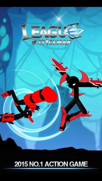 League of Stickman 2017 Ninja Apk