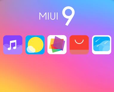 MI UI 9 Icon Pack