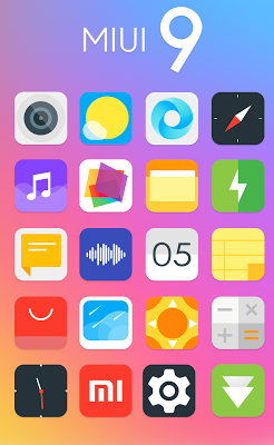 MI UI 9 Icon Pack Apk