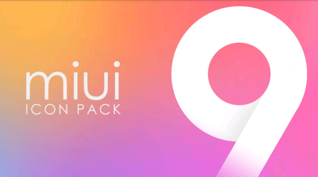 MIUI 9 HD ICON PACK
