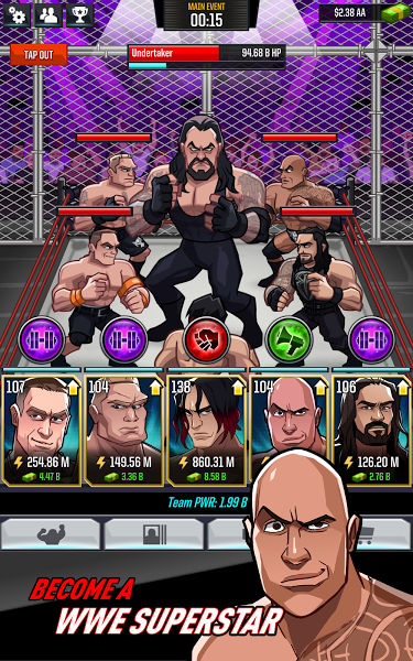 WWE Tap Mania Apk 1