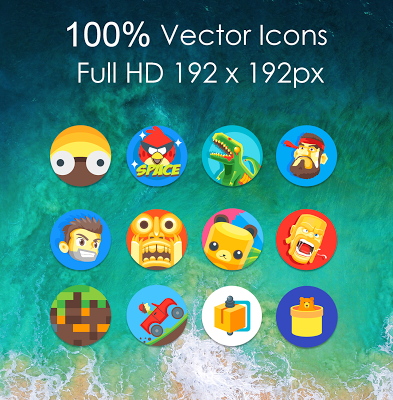 Oreo 8 Icon Pack Apk