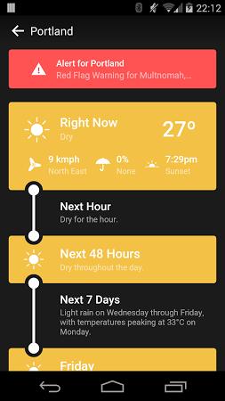 Weather Timeline Forecast Apk