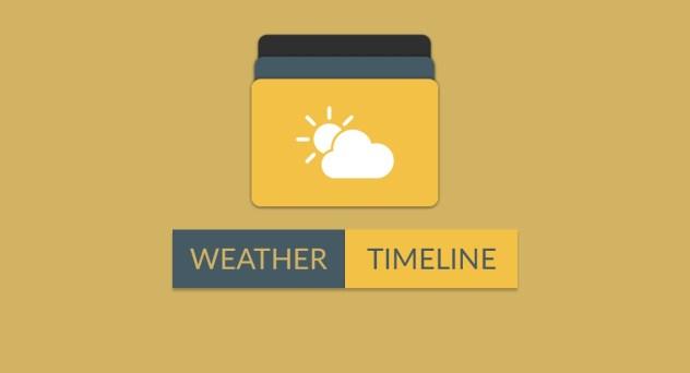 Weather Timeline Forecast