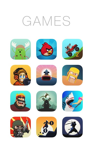 OS X 11 Icon Pack Apk
