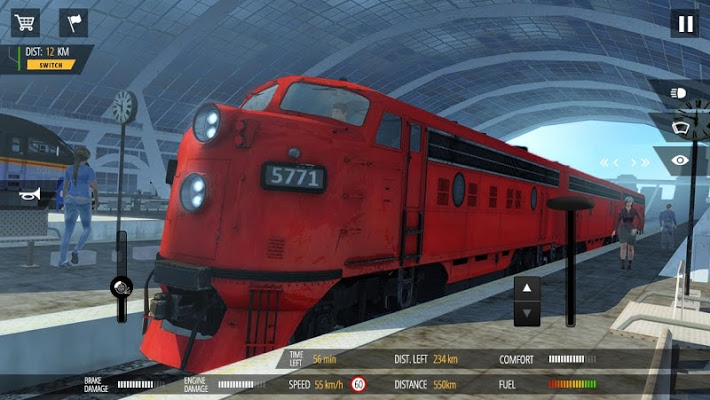 Train Simulator PRO 2018 Apk