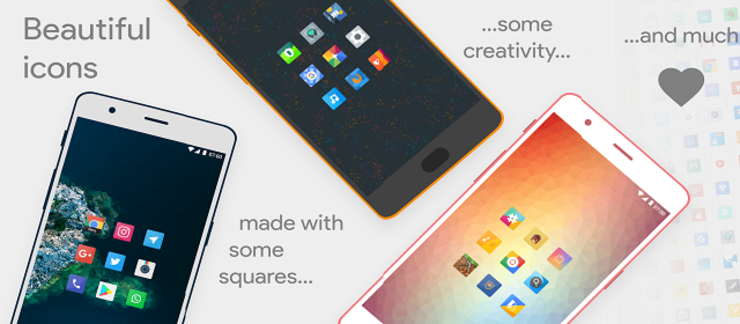 Talitha Square Oreo Adaptive Icon Pack