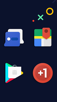 Frozy Material Design Icon Pack Apk