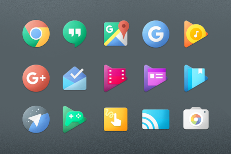 Chromatin UI Icon Pack