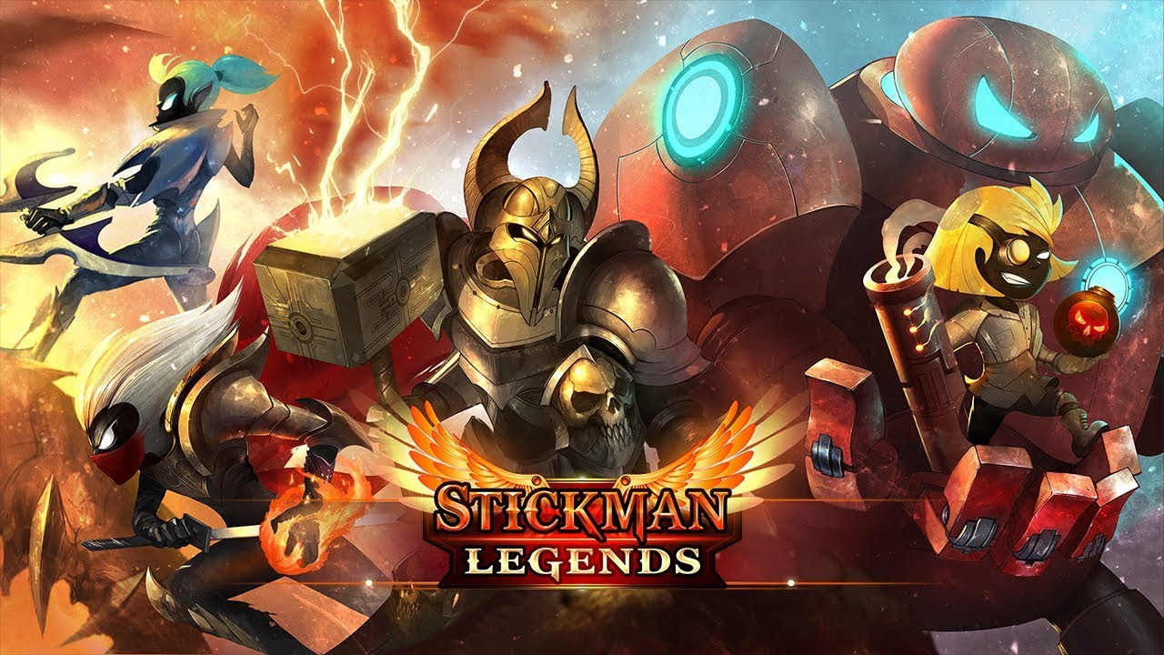 Stickman Legends Ninja Hero