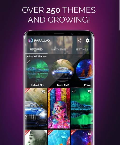 3D Parallax Background Apk