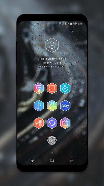 Hexo Icon Pack Apk