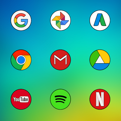 MI COLOR ICON PACK HD Apk