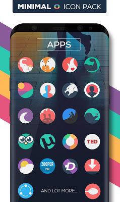 Minimal O Icon Pack Apk