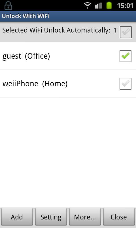 Unlock With WiFi Apk