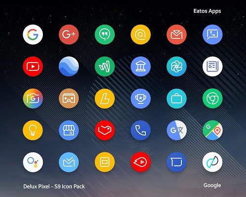 Delux Pixel Icon pack Apk