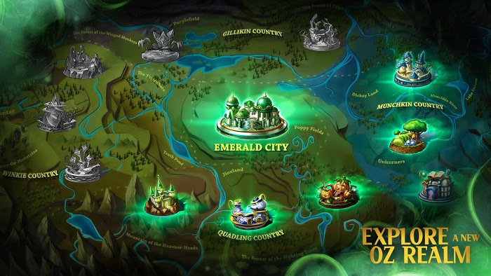 Broken Kingdom Oz Apk