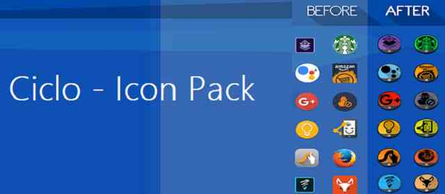 Ciclo Icon Pack