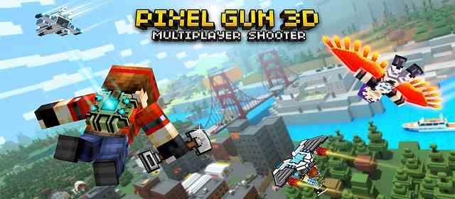 Gun 3D Pixel