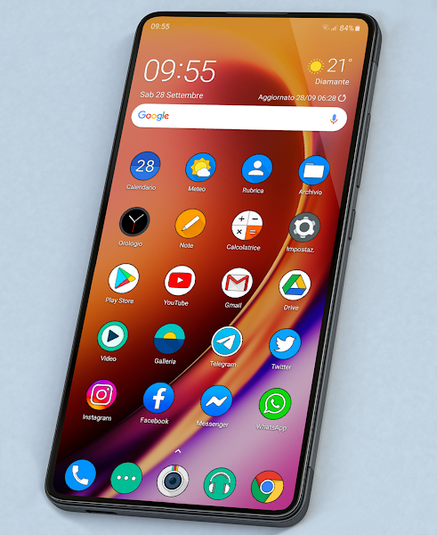 OXYGEN CIRCLE ICON PACK Apk