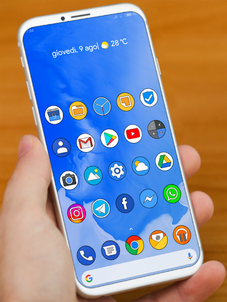 PIXEL Q HD ICON PACK Apk