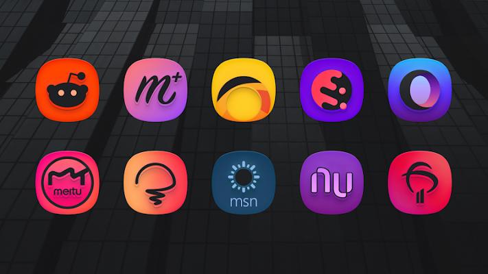 SuperBlack Icon Pack Apk