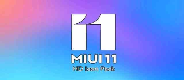 MIUI 11 CARBON ICON PACK