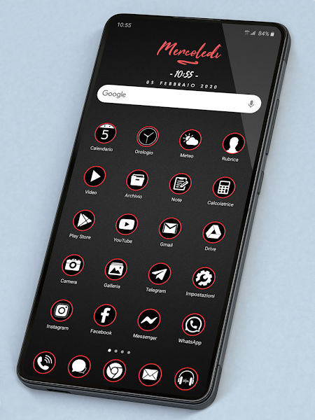 PIXEL PROFESSIONAL DARK ICON PACK Apk