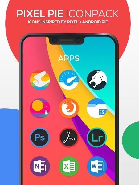 Pixel Pie Icon Pack Apk