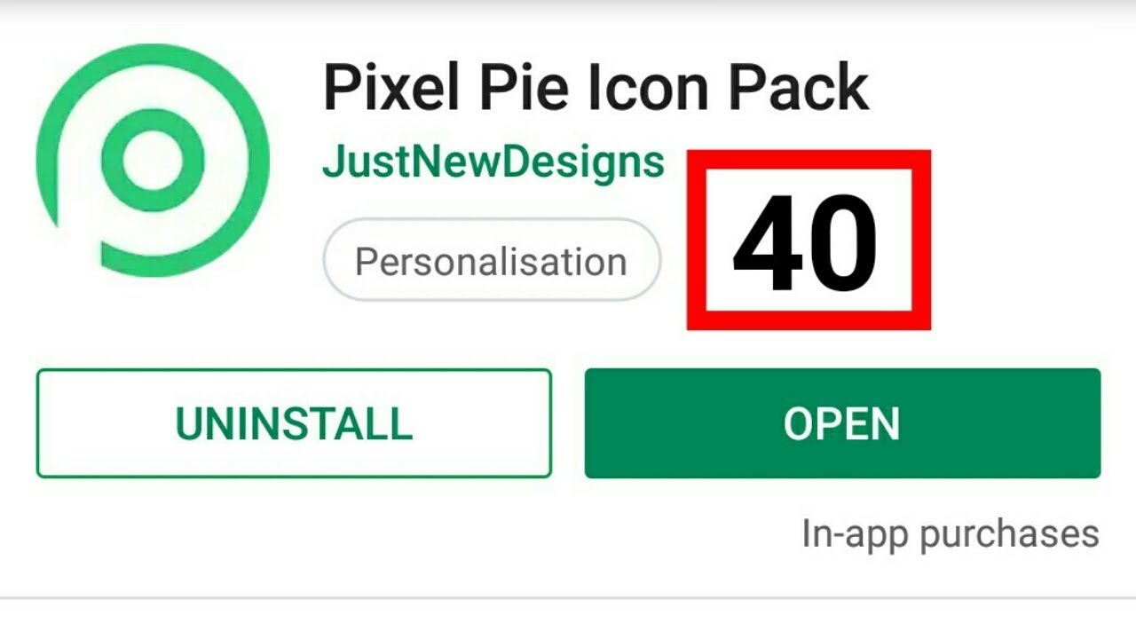 Pixel Pie Icon Pack