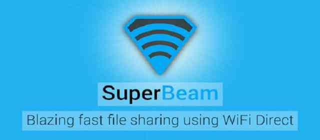 SuperBeam Pro WiFi Direct Share