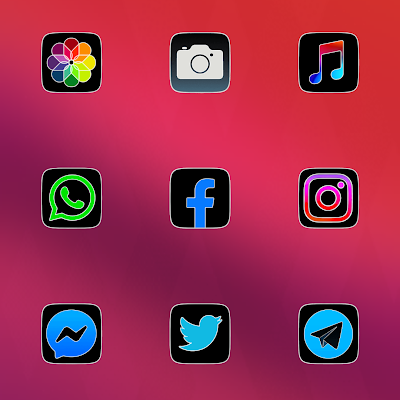 CRiOS FLUO ICON PACK Apk