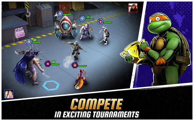 Ninja Turtles Legends Apk