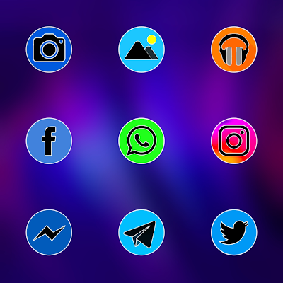 PIXEL FLUO ICON PACK Apk