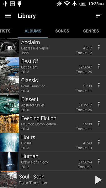 GoneMAD Music Player Premium Apk