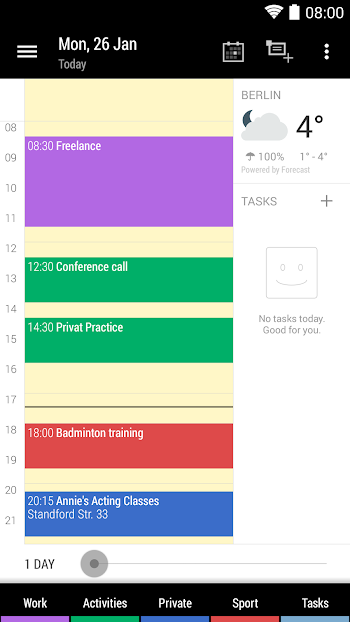 Business Calendar Apk