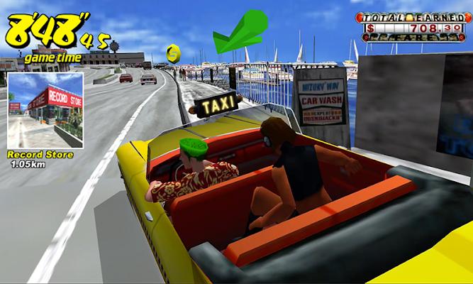 Crazy Taxi Classic Apk