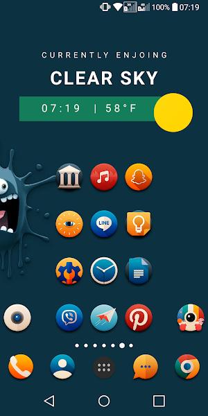PixxR Buttons Icon Pack Apk