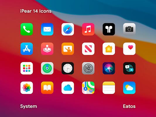iPear 14 Icon Pack Apk