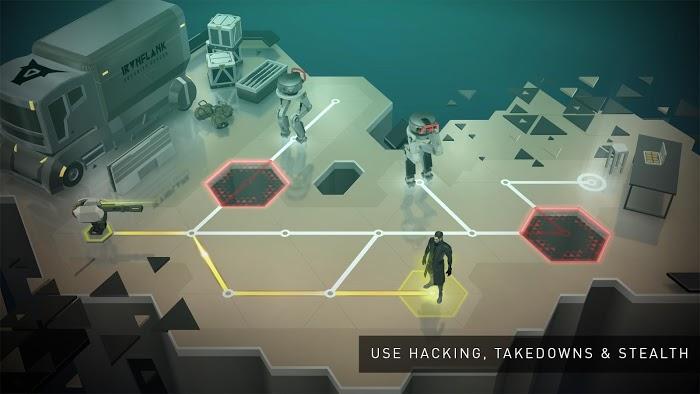 Deus Ex GO Puzzle Challenge Apk