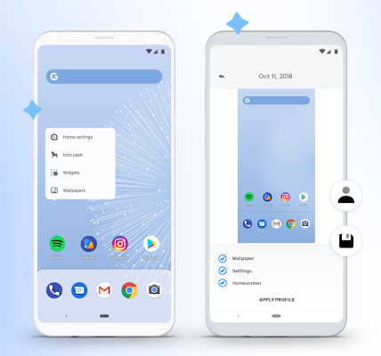 Hyperion launcher Plus Apk