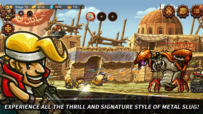 Metal Slug Infinity Idle Game Apk